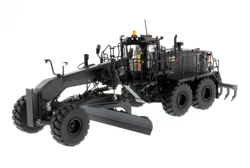 Cat 18M3 Motor Grader Special Edition in Black Onyx Finish - High Line Series