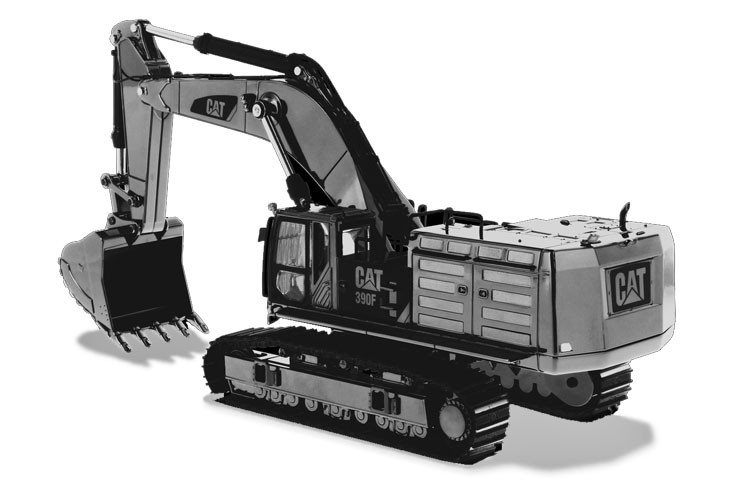 Caterpillar 390F L Hydraulic Tracked Excavator - Commemorative Series