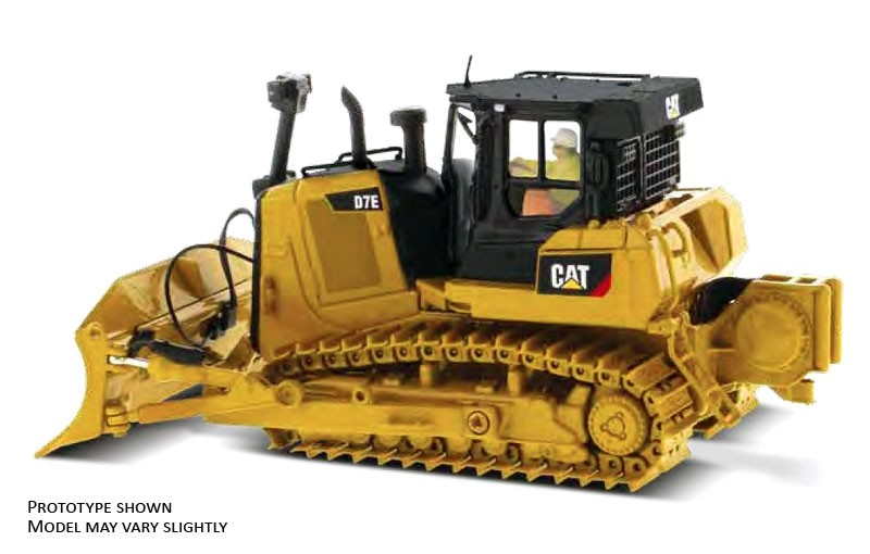 Caterpillar D7E Track-Type Tractor Dozer in Pipeline Configuration - High Line Series