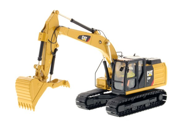 Caterpillar 323F L Hydraulic Excavator with Thumb - High Line Series