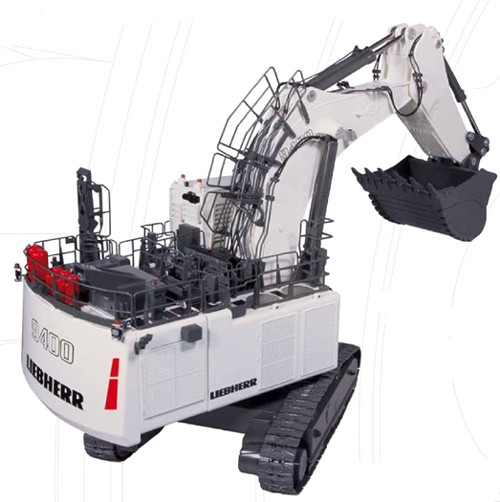 Liebherr R9400 backhoe-OPEN BOX