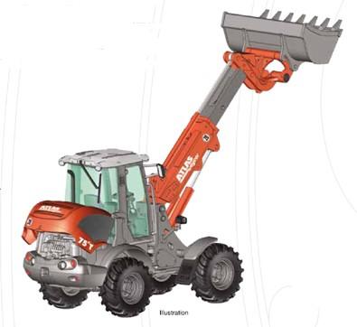WEYCOR AR75E wheel loader