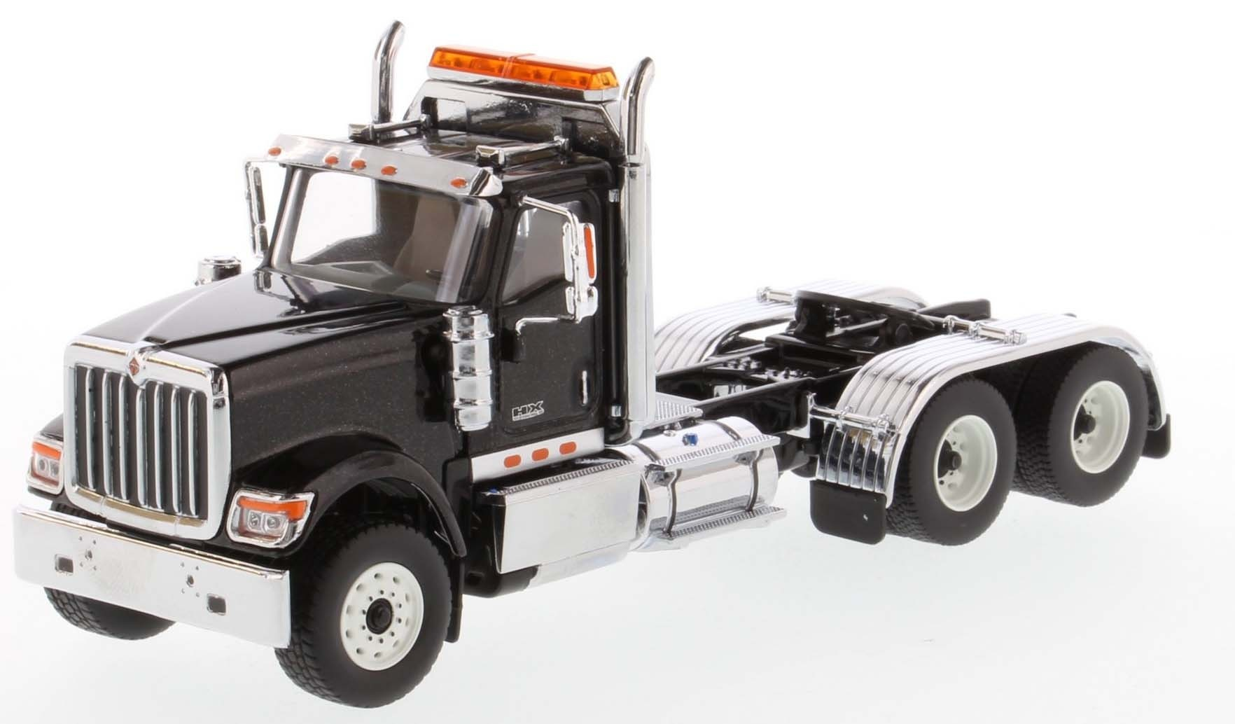 International HX520 Day Cab Tandem Tractor in Metallic Black - Cab Only