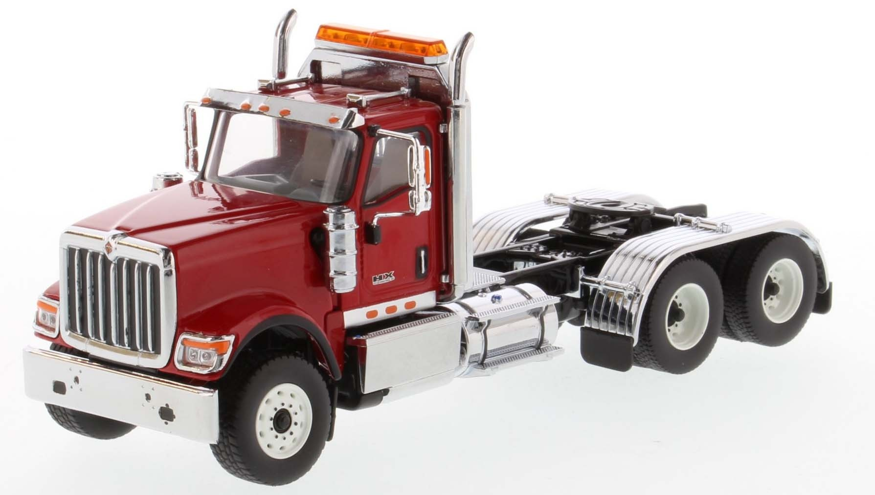 International HX520 Day Cab Tandem Tractor in Red - Cab Only