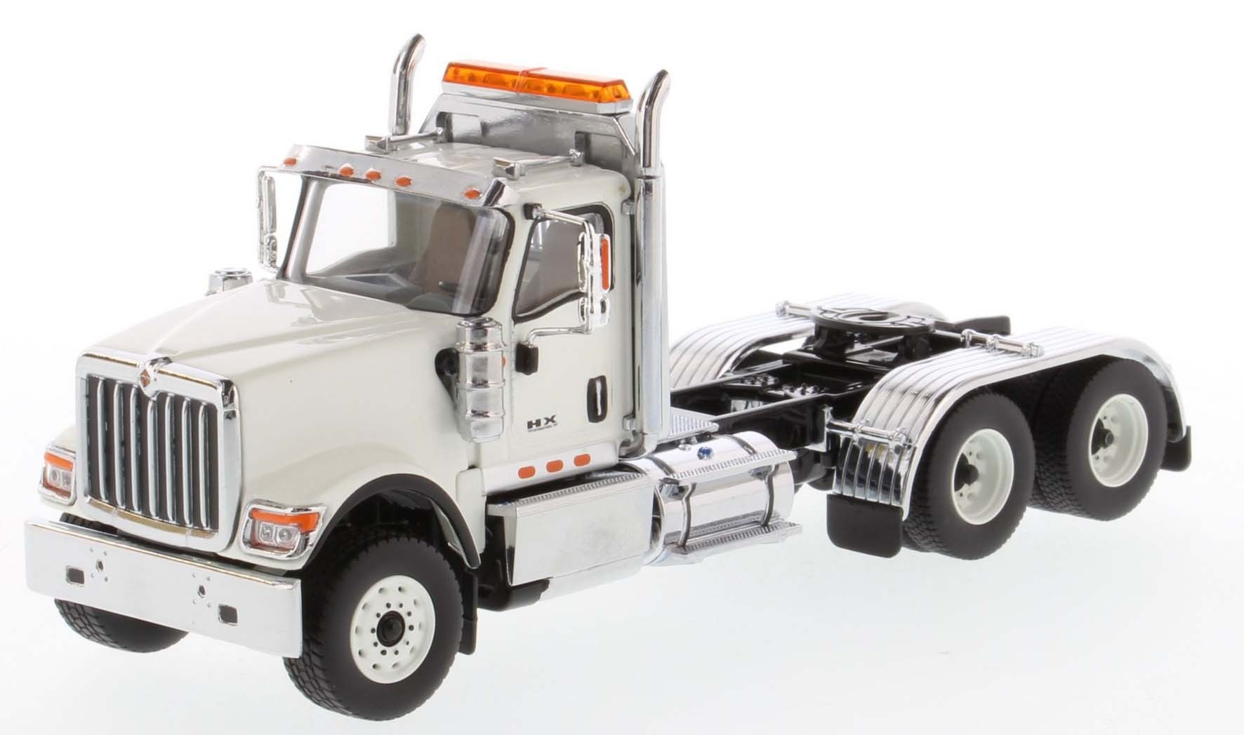 International HX520 Day Cab Tandem Tractor in White - Cab Only