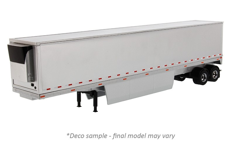 53' Refrigerated Van Trailer in Silver - Trailer Only