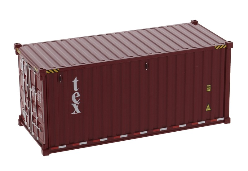 Tex - 20' Dry Goods Shipping Container