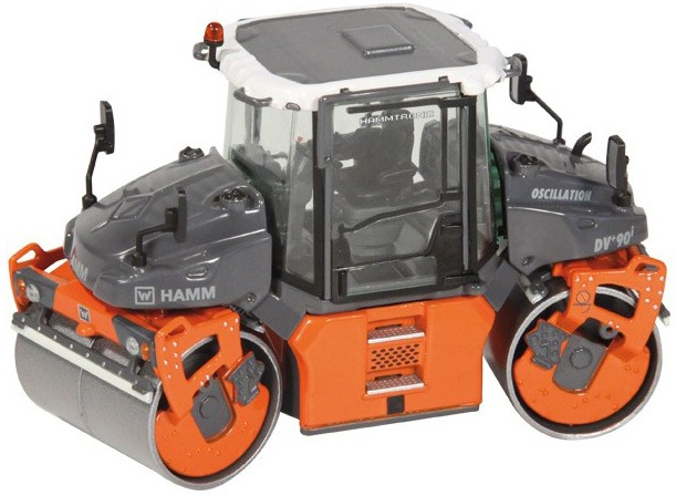 HAMM DV+90I VO-S Tandem roller with vibratory and oscillating drum