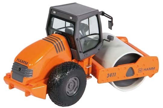 Hamm 3411 Compactor with Smooth Roller Drum