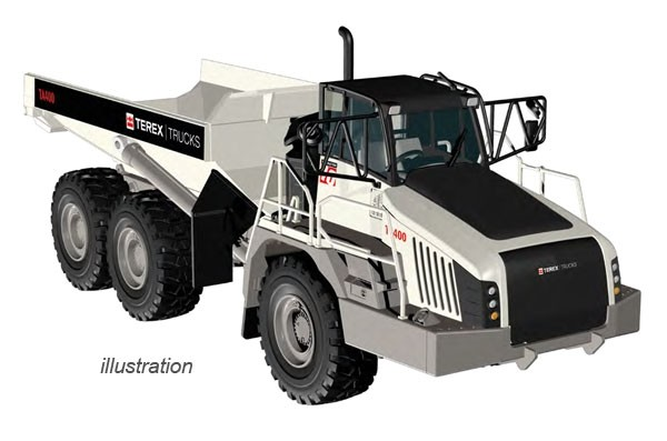 Terex TA400 Generation 10 Articulated Dump Truck