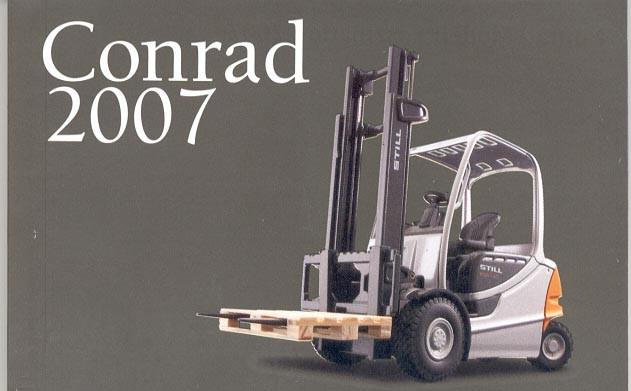 Conrad 2007 mini catalog