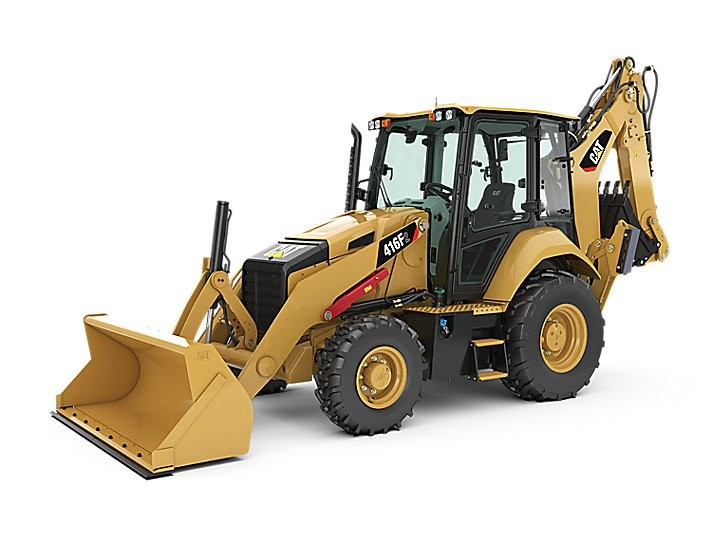 Cat 416F2 Backhoe Loader-Classic Construction Models Contractor Collection Series
