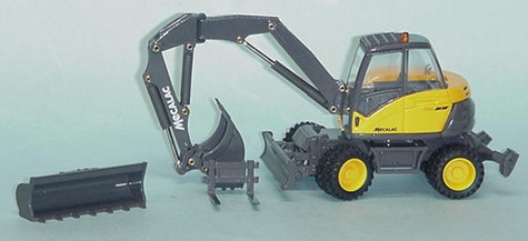 Mecalac 714MW mulit purpose wheel excavator