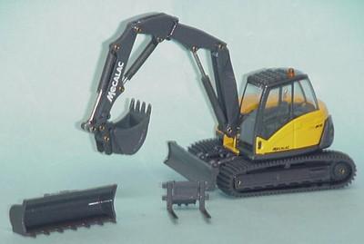 Mecalac 714MC mulit purpose crawler excavator