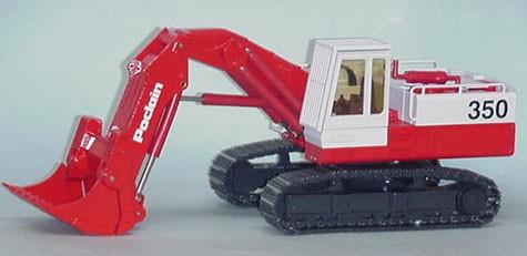 Poclain 350CK front shovel