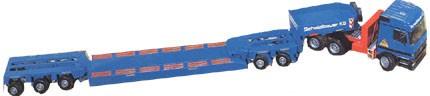Mercedes Actros w/ Goldhofer heavy haul trailer