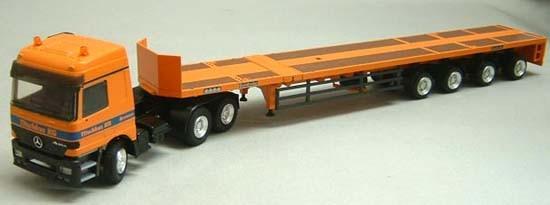 Mercedes Actros tractor  w/Goldhofer SPZ DL AAA trailer