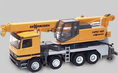 Sennebogen HPC 40 truck mounted crane