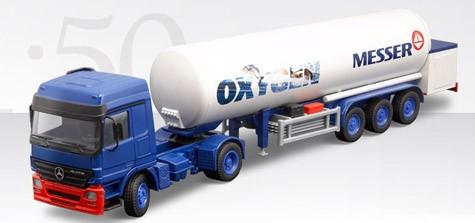 Mercedes Actos T/T gas tanker