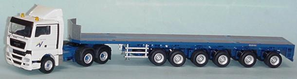 Goldhofer SPZ DL6 6 axle trailer/ MAN TGX tractor