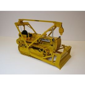 AMOC Caterpillar D4 2T with overhead cable blade-yellow version