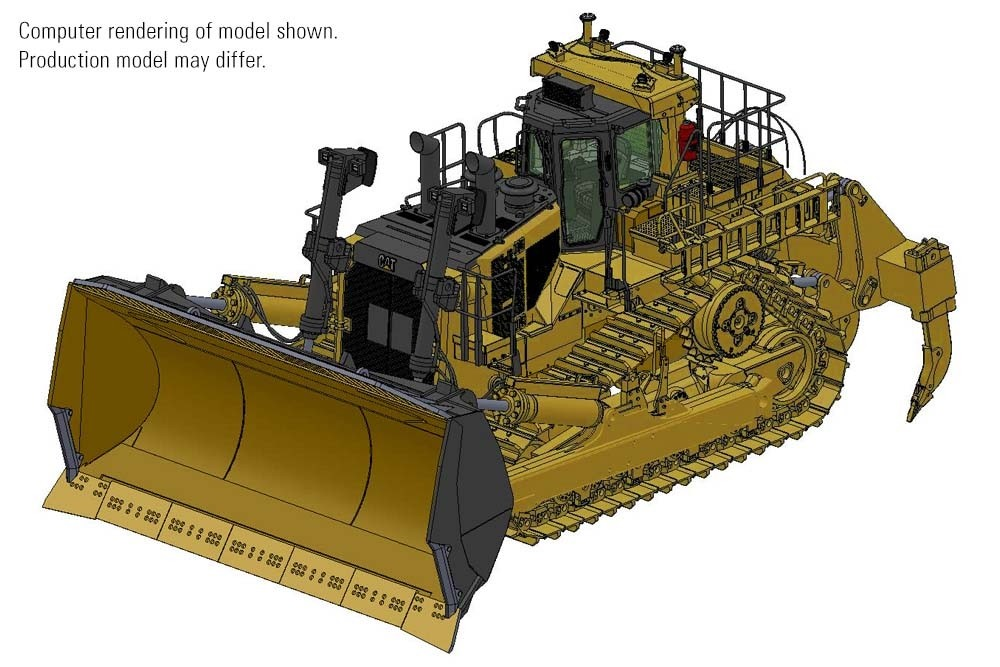 Cat D11 Carry Dozer – Die-cast-PREORDER-PRODUCTION RUN, PRODUCTION YEAR AND PRICE TO BE DETERMINED