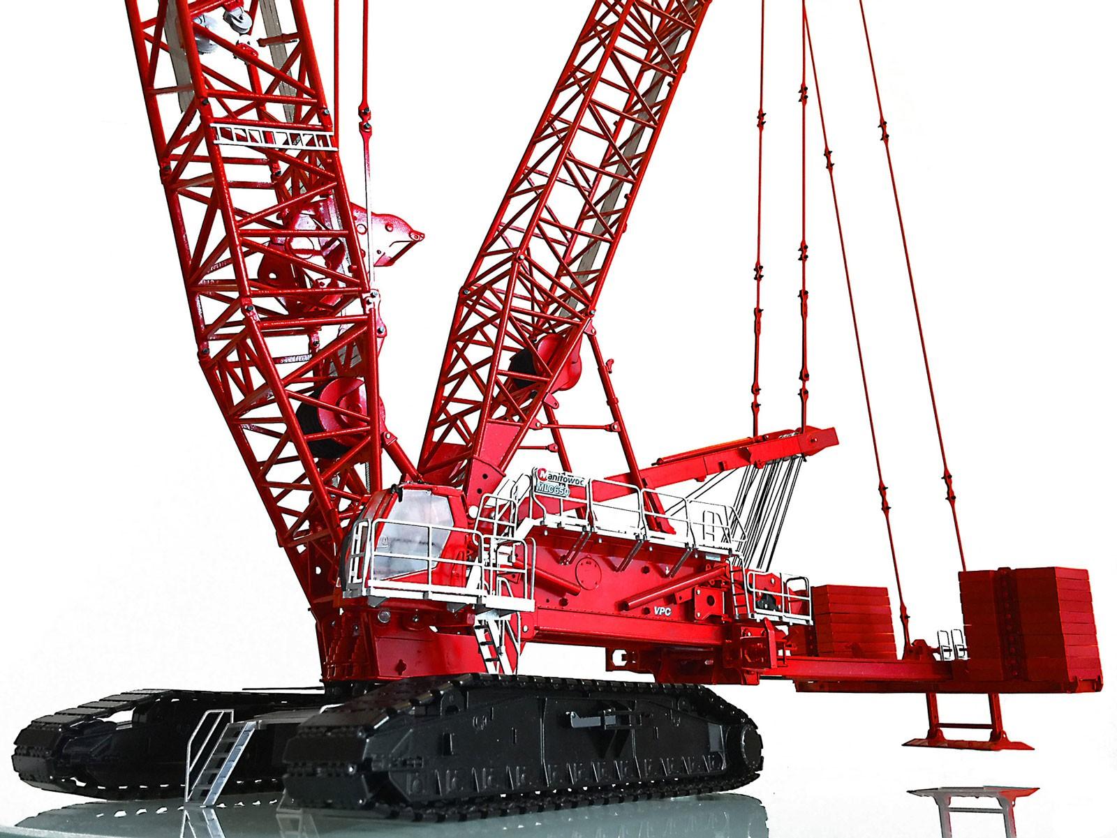 Manitowoc MLC650 Lattice Boom Crawler Crane w/VPC