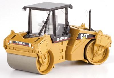 Cat CB534C XW vibrating roller w/cab