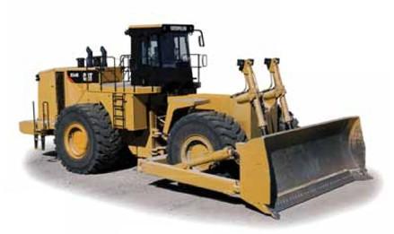 Caterpiller 854K wheel dozer