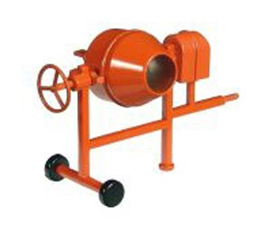 Portable concrete/grout mixer