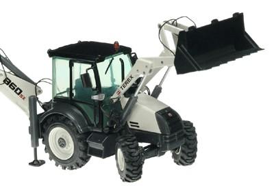 Terex 860SX tractor backhoe loader