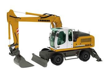 Liebherr A924C wheel excavator