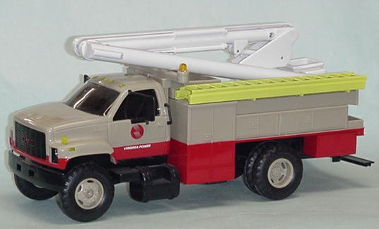 GMC linemans truck 'VIRGINIA POWER' plastic