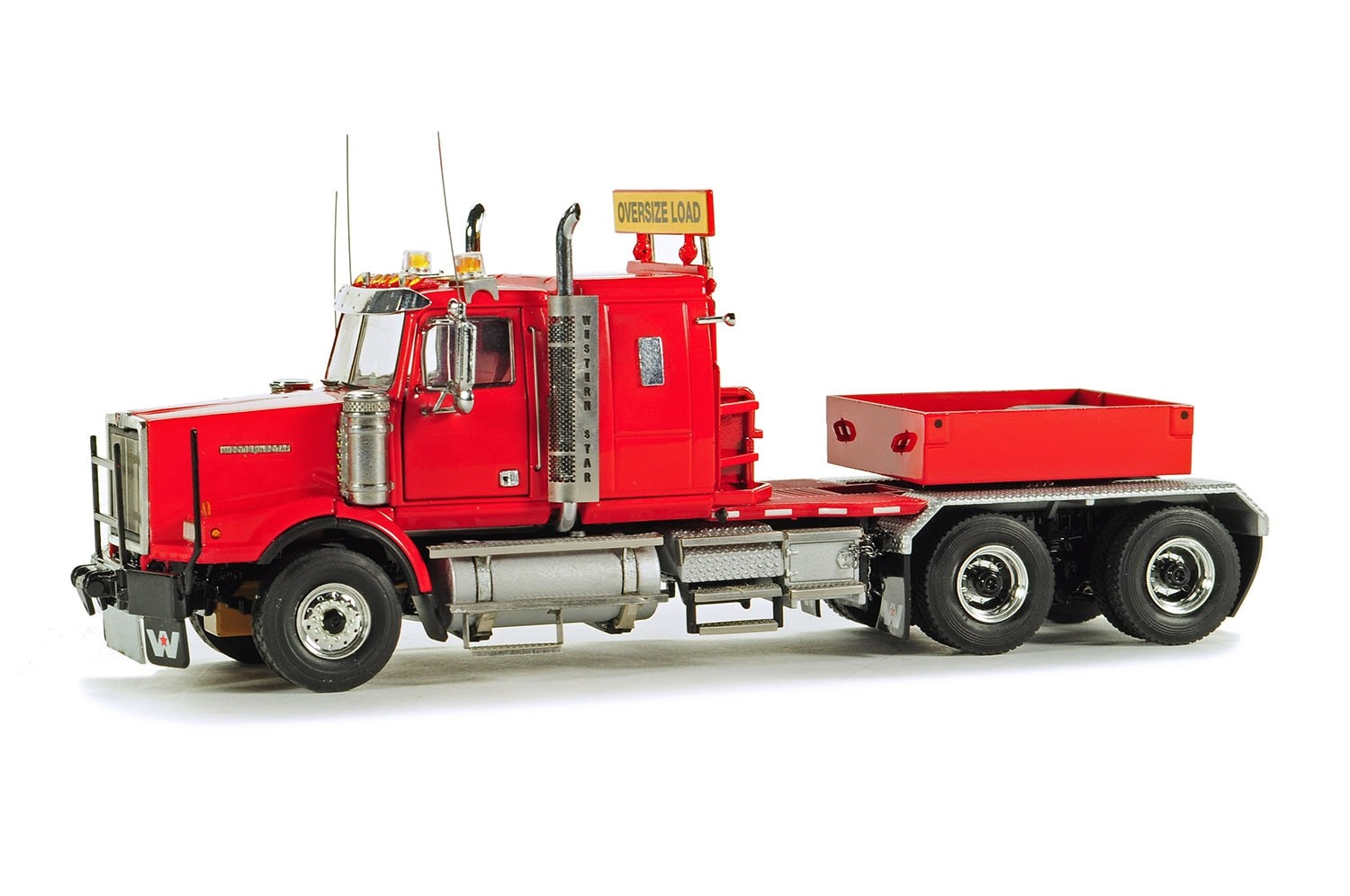 Western Star 4964SX-1 Heavy Tractor w/Ballast Box - Red