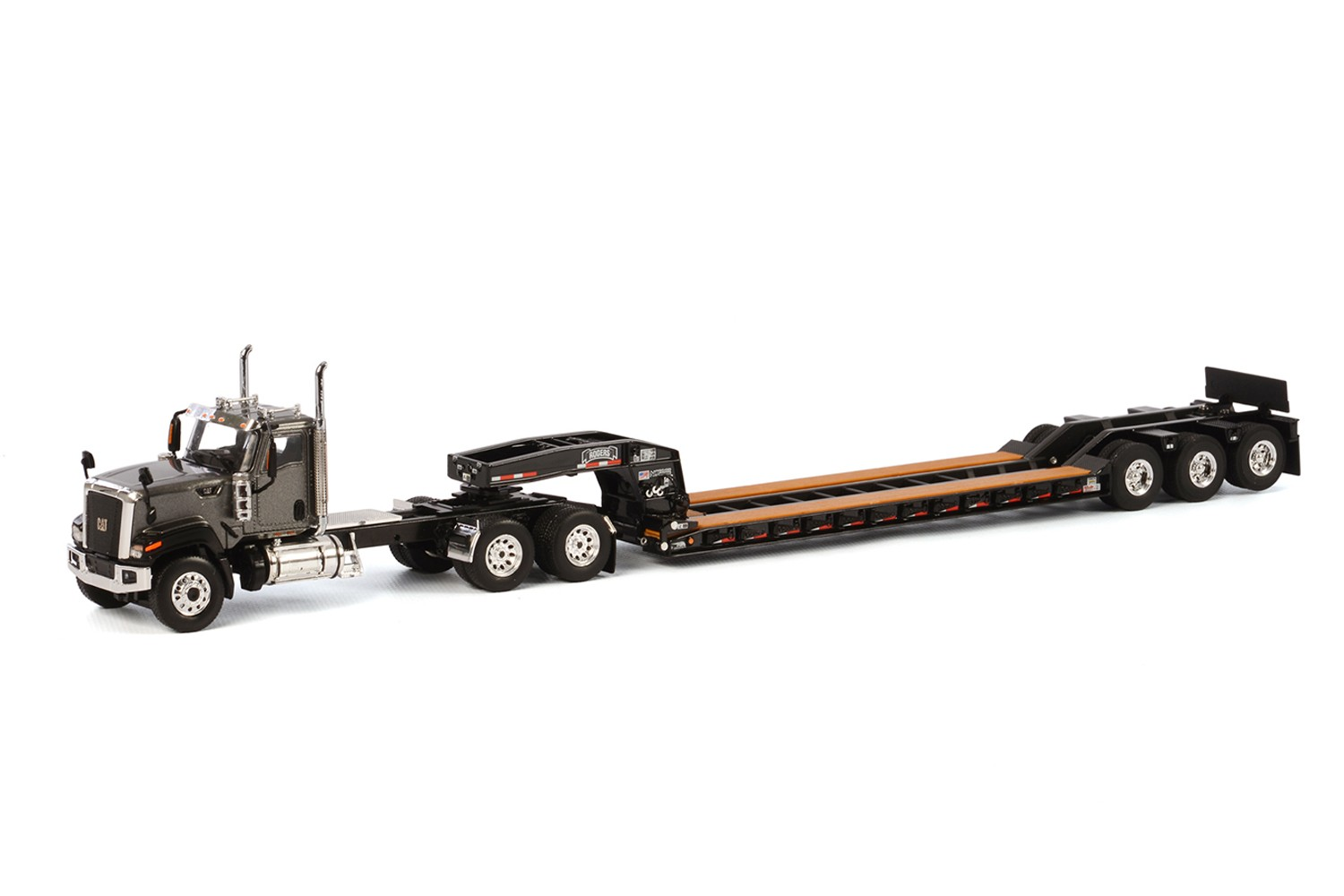 Caterpillar CT680 with 3 axle lowboy-Grey/Black