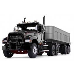Mack Granite with End Dump Trailer