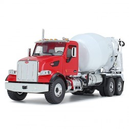 Peterbilt Model 567 with McNeilus Standard Mixer-Red/White