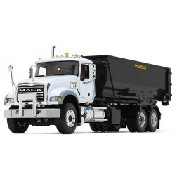 Mack Granite with Tub-Style Roll-Off Container