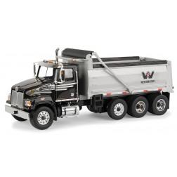 Western Star 4700 SF Dump Truck-BLACK/SILVER