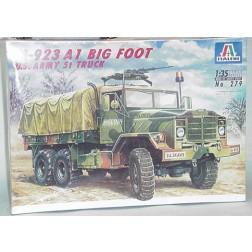 M 923 military transport truck model kit