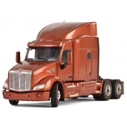 Peterbilt 579 3-Axle Tractor w/High Top Sleeper - Brown