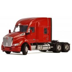 Kenworth T680 3-Axle Tractor w/Mid-Top Sleeper - Red