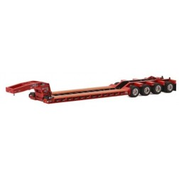 Rogers Ultima Lowboy Trailer 4th Axle Flips - Red