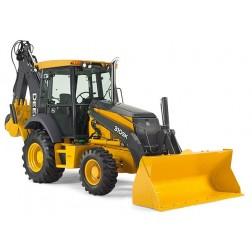 John Deere 310 SK tractor backhoe loader