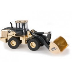 John Deere 544L Wheel Loader - 50th Anniversary Edition in Gold Chrome-PREORDER