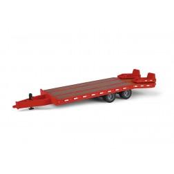Beavertail trailer-Red