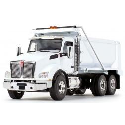 KENWORTH T880 DUMP TRUCK-WHITE-PREORDER