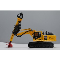 KOMATSU PC360LC-11 WITH BAY SHORE DH60 DRILL ATTACHMENT