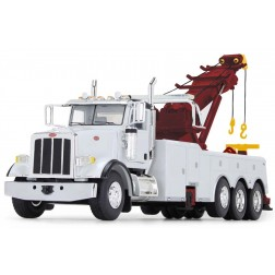 Peterbilt Model 367 with Century Rotator Wrecker-White/Red/Yellow