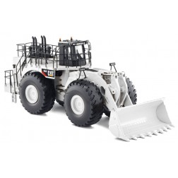 Caterpillar 994 F wheel loader limited run white color